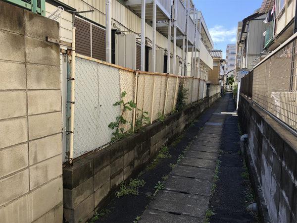 川越市神明町 アパート周りの補修工事