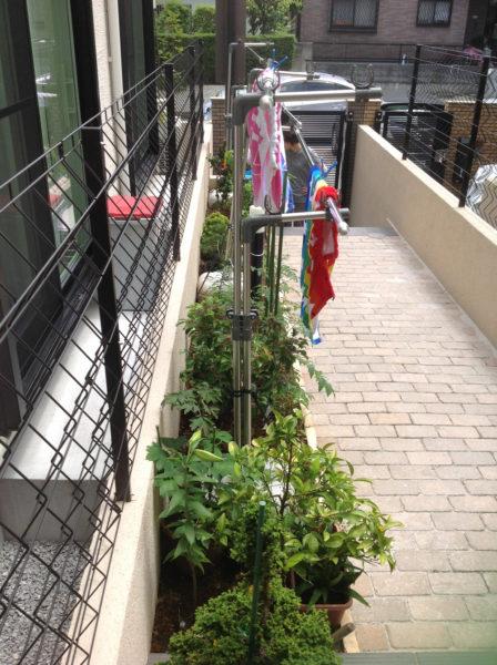 練馬区 H様邸 目隠しフェンス設置