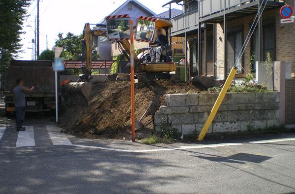川越市のカーポート工事7