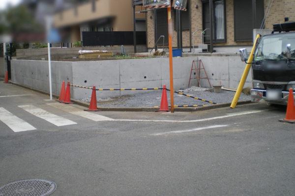 川越市のカーポート工事4