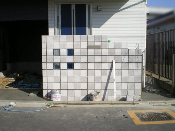 霞ケ関造作門柱2