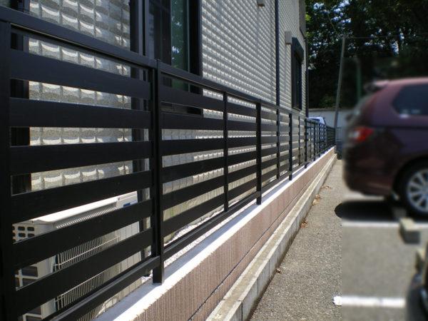 川越市かすみ野フェンス工事4