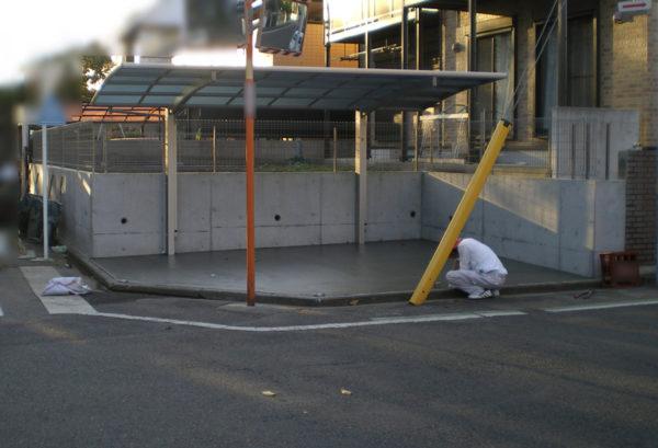 川越市のカーポート工事3
