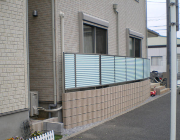 川越市のフェンス工事