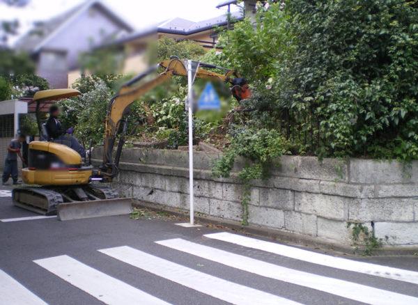 川越市のカーポート工事8