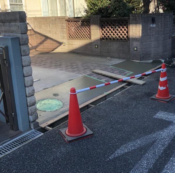 川越市の段差改修工事3