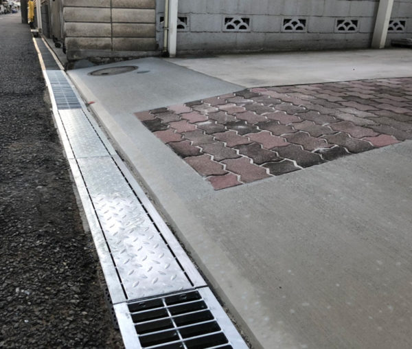 川越市の段差改修工事完了