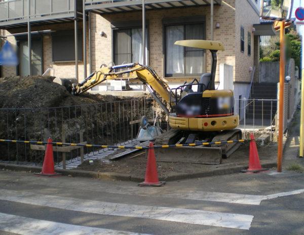 川越市のカーポート工事5