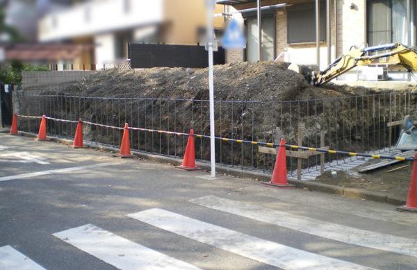 川越市のカーポート工事6