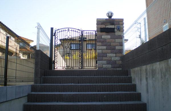 川越市小仙波 新築エクステリア2