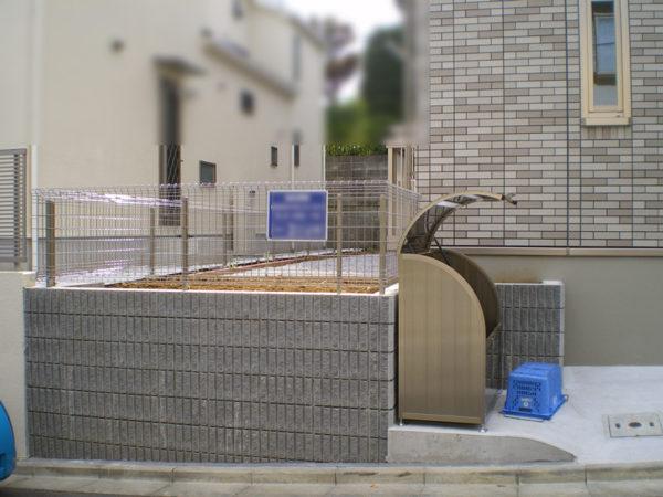 川越市の土間コンクリート工事施工後3