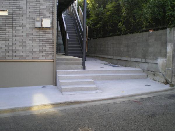川越市の土間コンクリート工事施工後5