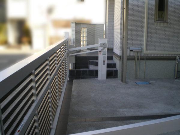 川越市今福新築エクステリア4駐車場部分