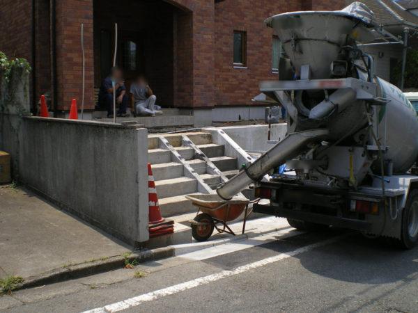 階段部分施工前715-1