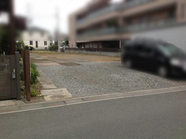 所沢市 駐車場の舗装工事1