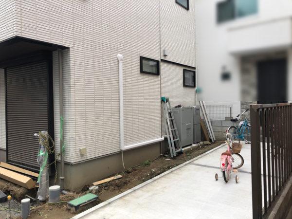 西東京市のペットと暮らすエクステリア1