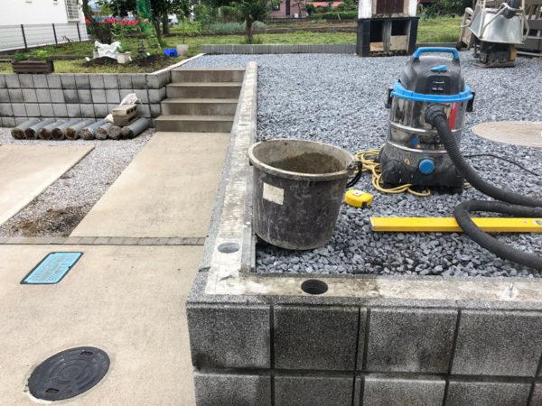 川越市のフェンス取り換え工事1
