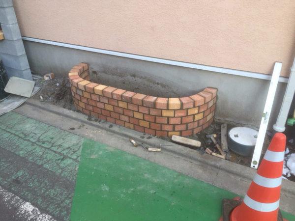 西東京市の新築エクステリアのコンクリート工事17