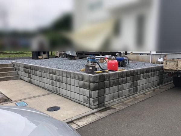 川越市のフェンス取り換え工事2