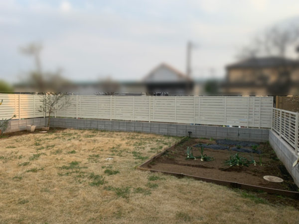 川越市 フェンス工事3施工後