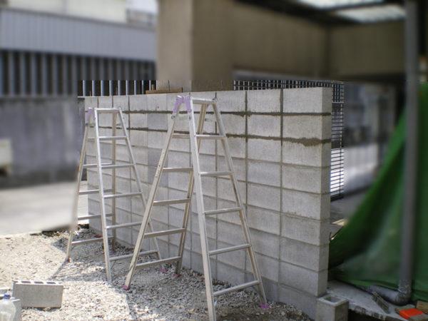 三鷹市 フェンス・ブロック塀の設置3