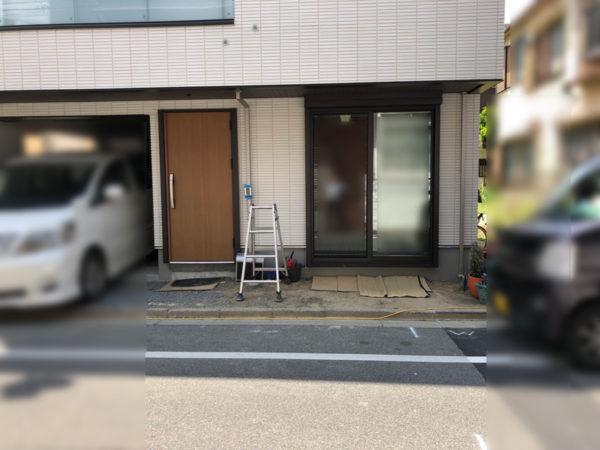 西東京市のペットと暮らすエクステリア3