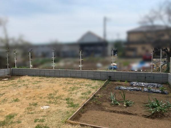 川越市 フェンス工事4