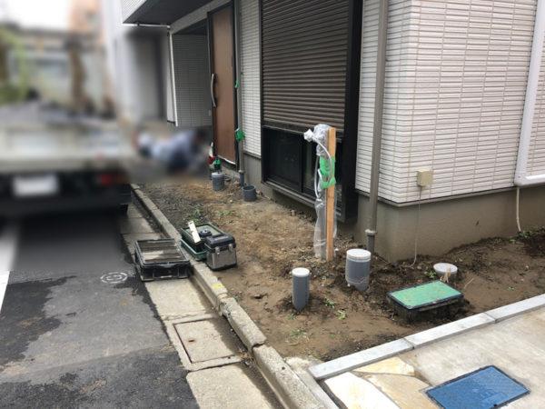 西東京市のペットと暮らすエクステリア4