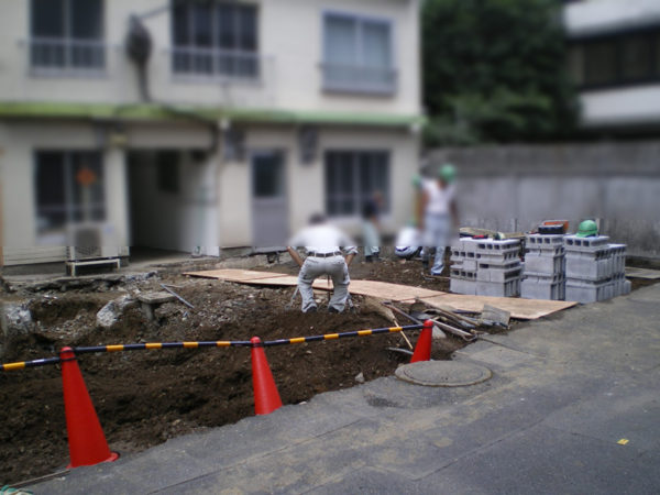 三鷹市 フェンス・ブロック塀の設置5