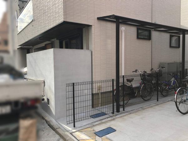 西東京市のペットと暮らすエクステリア7