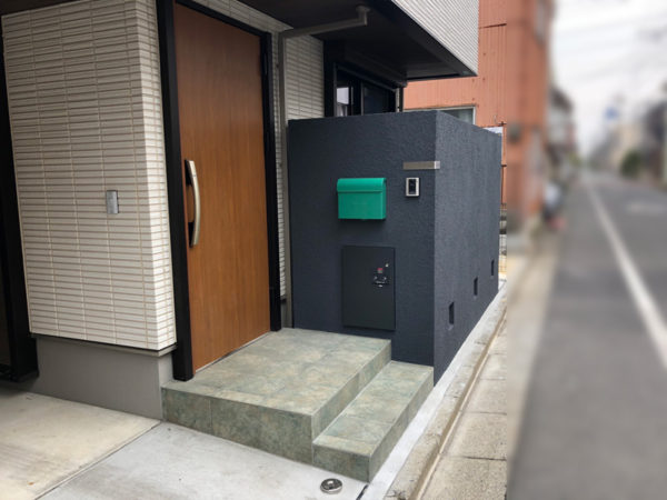 西東京市のペットと暮らすエクステリア2
