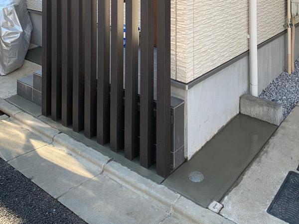 西東京市 目隠しフェンス(スリット工事)2-2