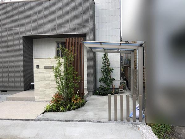 所沢市新築エクステリア・外構工事4