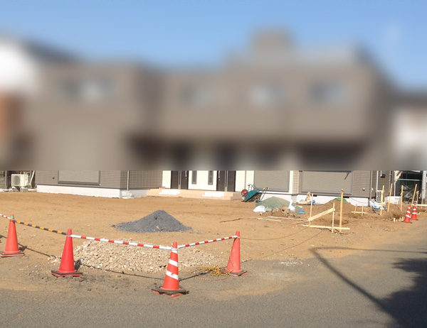 川越市 カーポート設置工事【新築エクステリア】1-1