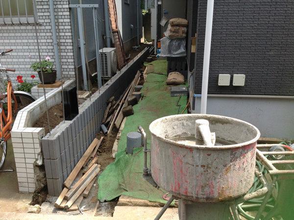 川越市新築エクステリア2-1-1