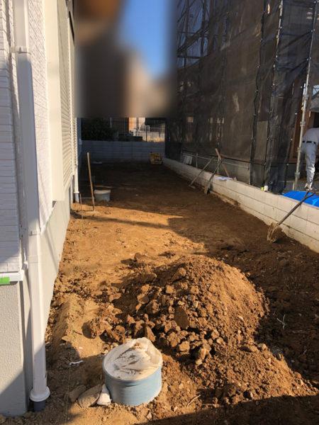 さいたま市西区土間コンクリート工事2