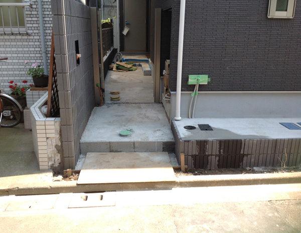 川越市新築エクステリア2-2-2