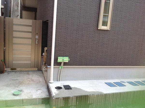 川越市新築エクステリア2-4-4