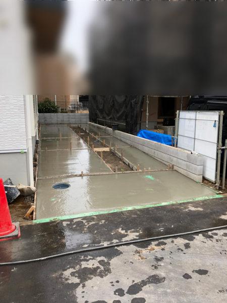 さいたま市西区土間コンクリート工事5
