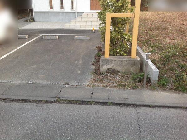 花壇ブロック塀フェンス5