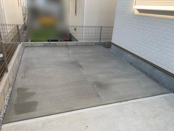 人工芝からコンクリート6