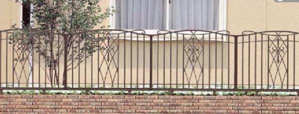 アルミ鋳物フェンス