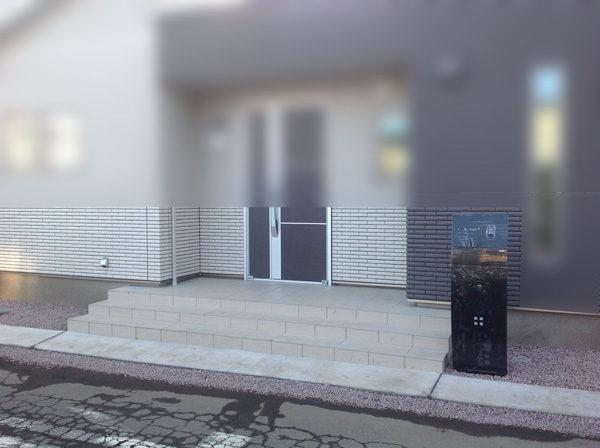 機能門柱黒3