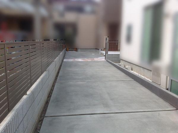 三芳町土間コンクリート奥の家4の完成後