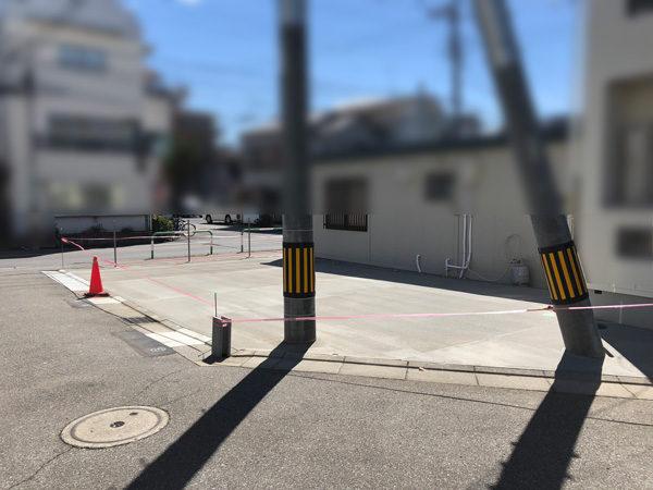 川越市AP駐車場土間コンクリート4