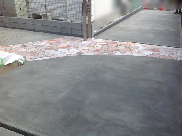 三芳町土間コンクリート奥の家6の完成後