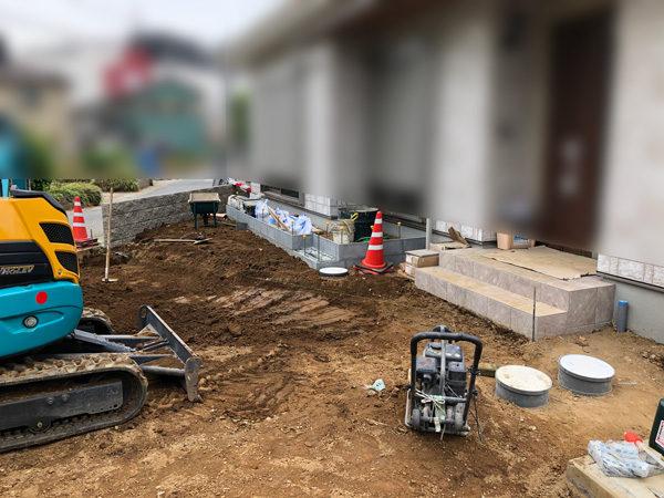 川越市の土間コンクリート工事NO.20の施工前前1-13