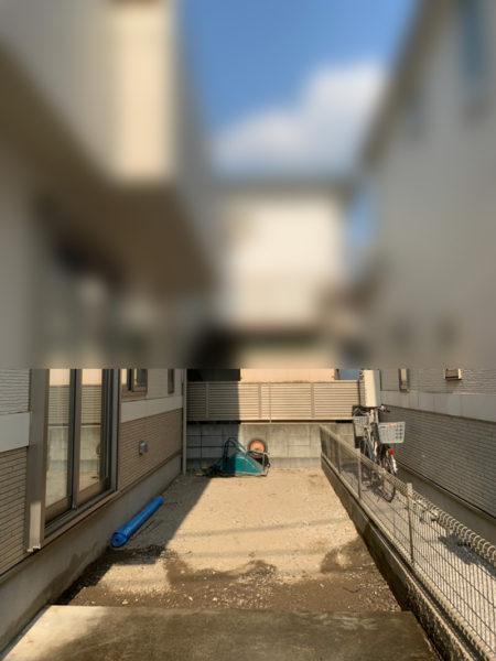 駐車場の工事の施工前2re4