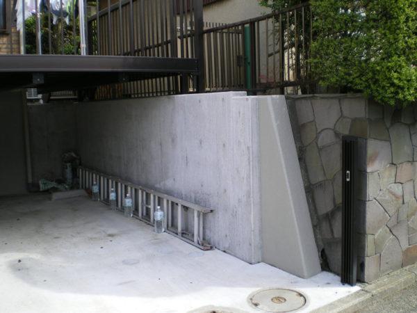 深基礎駐車場テラスre3の施工後