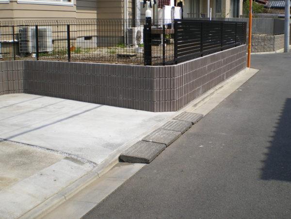 川越市ブロック塀のフェンス工事